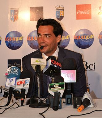 Cristián de la Fuente - Press conference of De la Fuente in 2011