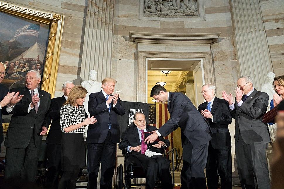Congressional Gold Medal recipient Senator Bob Dole (39052831604)