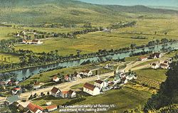 Fairlee from Morey Mountain c. 1907