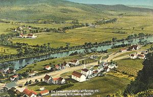 Fairlee, Vermont - Fairlee from Morey Mountain c. 1907