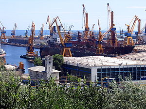 Shipyard - Constanța Shipyard, Romania