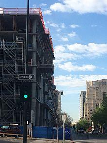 Construction Along Cherokee Street In The Golden Triangle Neighborhood
