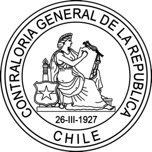 "Comptroller General of Chile - Logo of the ""CGR"""