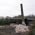 Controlled Demolition of Carrongrove Paper Mill Chimney 21 November 2009 - geograph.org.uk - 1598374.jpg
