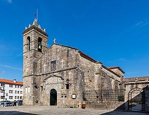 Cambados - Convent of San Francisco in Cambados.