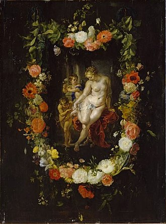 Cornelis Schut - Birth of the red rose