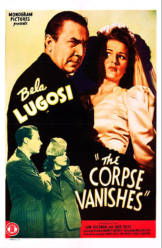 The Corpse Vanishes - Theatrical poster