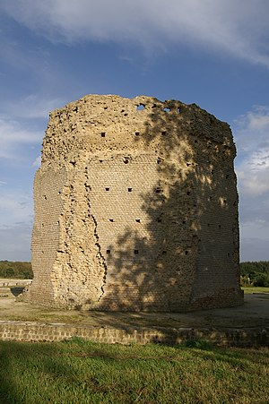 Brittany - The temple of Mars in Corseul.