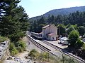 Corsica - Vizzavona - train station - Huba - panoramio.jpg