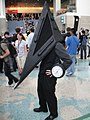 Cosplayer of Pyramid, Silent Hill at Anime Expo 20110702.jpg