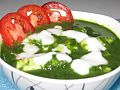 Cottage cheese in spinach sauce.jpg