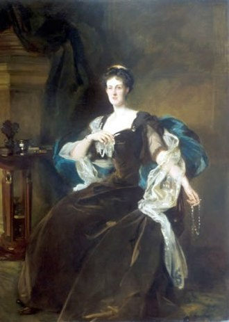 Edward Bootle-Wilbraham, 1st Earl of Lathom - Wilma, Countess of Lathom, wife of the 2nd Earl, by John Singer Sargent, 1904