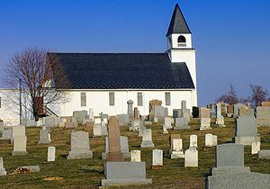Chanceford Township, York County, Pennsylvania - St. Luke's (Stabley's) Lutheran Church, New Bridgeville, PA