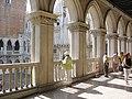 Cour intérieure du palais des Doges (Venise) - panoramio.jpg