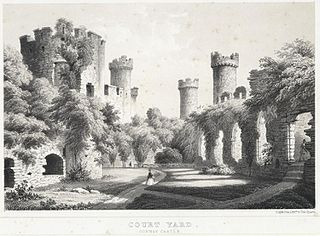 Court Yard, Conway Castle