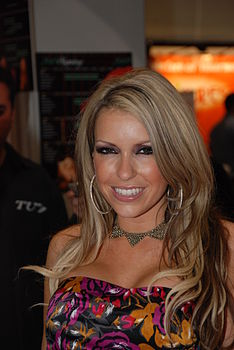 Courtney Cummz at AVN Adult Entertainment Expo 2009 1.jpg