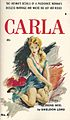 Cover of Carla by Sheldon Lord - Cover artist Paul Rader - Midwood 1958.jpg