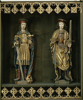 Crispin and Crispinian 3rd-century Christian martyrs and saints