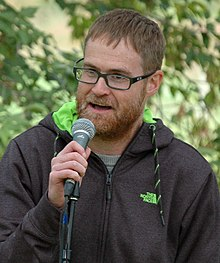 Craig Davidson at the Eden Mills Writers' Festival in 2015