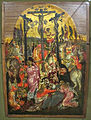 Creta, georges klontzas e bottega (attr.), natività e crocifissione, 1590-1610 ca. 02.JPG