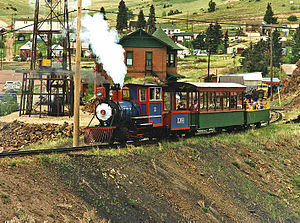 Cripple Creek and Victor Narrow Gauge Railroad - Image: Cripple Creek and Victor N.G.R.R