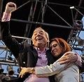 Cristina y Néstor Kirchner - cierre de campaña.jpg