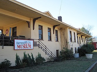 Earle, Arkansas - The old Missouri Pacific Depot in Earle is listed on the National Register of Historic Places.