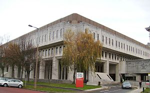 Welsh Office - The new Crown Building, Cathays Park, Cardiff
