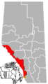 Crowsnest Pass, Alberta Location.png