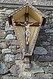 Crucifix on wall parish church S Peter Lajen.JPG