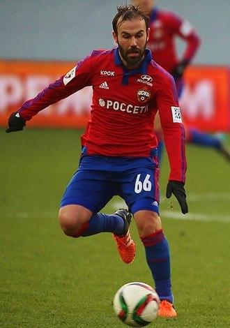 Bibras Natkho - Natkho with CSKA Moscow in 2015