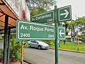 Cuatro Avenidas de Posadas - Intersección de Avenida Corrientes y Av. Roque Pérez.JPG