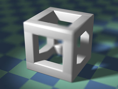 Cubic Structure with Shallow Depth of Field.jpg