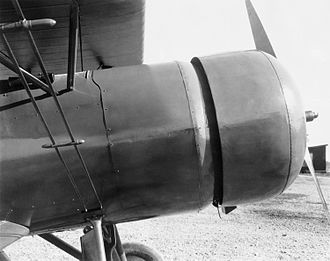NACA cowling - Close-up of the cowling on the NACA AT-5A.