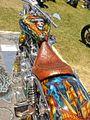 Custom painted chopper, motorcycle rally in Hollister, California 2007.jpg