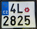 Czech motorcycle registration plate 2019.jpg