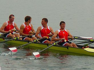 Rowing at the 2008 Summer Olympics - Polish men's quadruple sculls: gold medalists