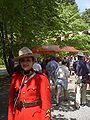 Día de Canadá en la Sala Galiano Norte; Const. Lina Dabit, RCMP.JPG