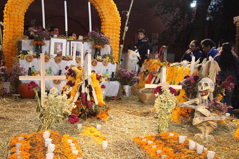 Festas diferentes no México