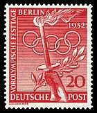 DBPB 1952 90 Vorolympische Festtage