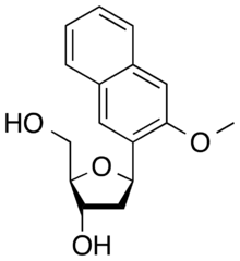 2D structure of dNaM