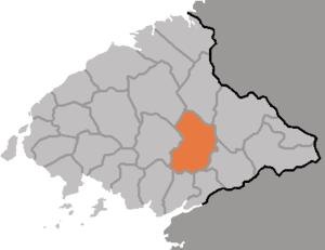 Taechon County - Image: DPRK Pyongbuk Taechon
