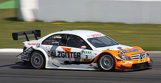 Gary Paffett - Paffett won his third DTM race in succession, by winning the season-opener at Hockenheim in 2010.