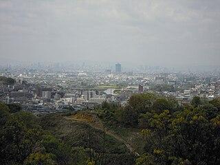 Kashiwara City in Kansai, Japan