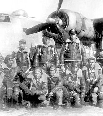 Dalhart Army Air Base - Graduating B-24 Liberator aircrew, 1944