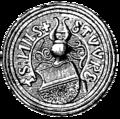 Daljunkerns sigill, Nordisk familjebok.png