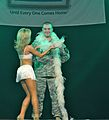 Dallas Cowboys Cheerleaders Performance - U.S. Army Garrison Humphreys, South Korea - 21 December 2011 (6558235137).jpg