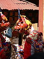 Dance of the Lord of Death and his Consort - Paro Tsechu 2.jpg