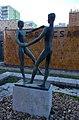 Dancing couple statue, 2019 Rákoskeresztúr.jpg