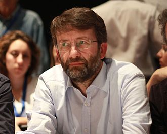 Dario Franceschini - Franceschini at the Leopolda convention in Florence, 2014.